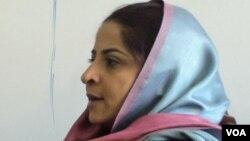 نیلوفر سخی، رئیس اجرایوی مرکز بین المللی برای پیشرفت اقتصادی زنان