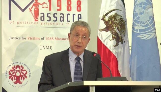 «طاهر بومدرا»، مشاور سابق نماینده ویژه دبیرکل سازمان ملل متحد برای عراق