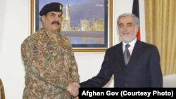 راحیل شریف با داکتر عبدالله هم ملاقات کرد