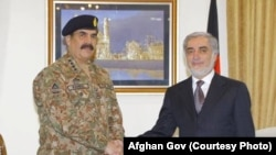 Dr Abdullah and Pakistani Army Chief