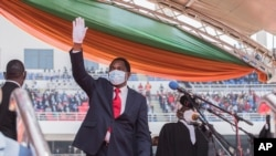 UMongameli Hakainde Hichilema weleZambia