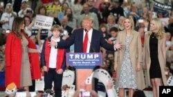 Respublikaçı namizəd Donald Tramp