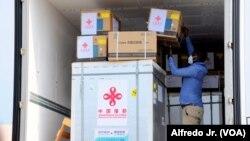 Vacina chinesa, Moçambique