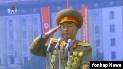 지난달 30일 북한-쿠바 군사회담의 북한측 대표로 참석한 김격식 인민군 총참모장. (자료사진)
