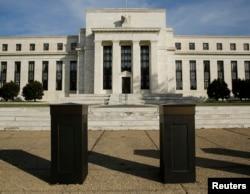美国的中央银行美国联邦储备委员会大楼(资料照片)