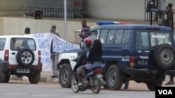 Policia prestes a deter activistas em anterior manifestação em Malanje