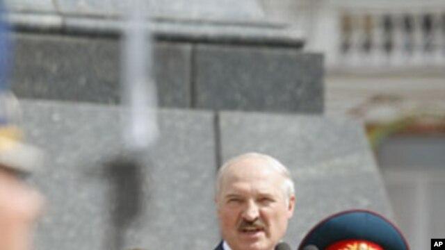 Belarus' President Alexander Lukashenko  (file photo)