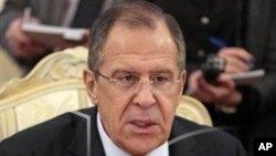 Menlu Rusia Sergey Lavrov mengecam keras proposal di parlemen negara itu yang akan melarang warga Amerika untuk mengadopsi anak Rusia, Selasa 17 Desember 2012 (Foto: dok).
