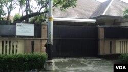 Rumah mewah di Manahan, Solo, milik jenderal polisi tersangka korupsi, Djoko Susilo, disegel KPK. (Foto: dok).