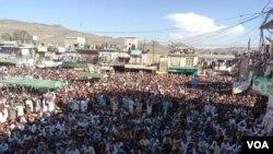عارف وزیر کے قتل کے خلاف وانا سمیت دیگر علاقوں میں احتجاجی مظاہرے کیے گئے۔