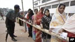 Women voting in Bangladesh. (file)
