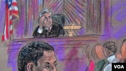 Ghailani estuvo bajo custodia de la CIA en Pakistán y luego permaneció en el centro de detención de la Bahía de Guantánamo.