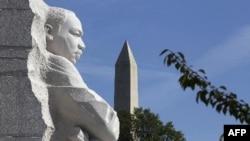 Washington'da yeni inşa edilen Martin Luther King anıtı