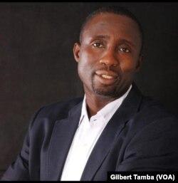 Jonathan Asake President Sokapu, le 26 août 2020. (VOA/Gilbert Tamba)
