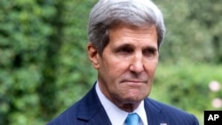 FILE - US Secretary of State John Kerry.