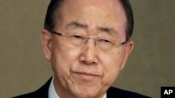 Ban Ki-moon, le secrétaire général de l'ONU (AP)