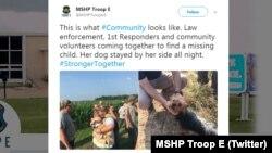 Повідомлення у Twitter дорожнього патруля штату Міссурі