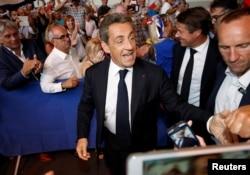 Nikola Sarkozi, sabiq Fransa prezidenti