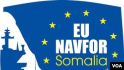 EU's fight against Somali pirates logo 欧盟打击索马里海盗标识