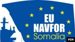 EU's fight against Somali pirates logo 欧盟打击索马里海盗标识