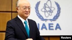 国际原子能机构总干事天野之弥 (资料照片)