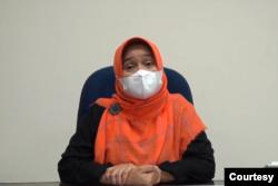Kepala Dinas Kesehatan DIY, Pembajun Setiyaning Astuti. (foto: privat)