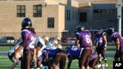 فورڈسن ہائی اسکول کی فٹبال ٹیم