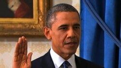 Obama Sworn In for Second Term as President