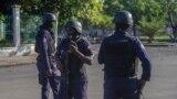 Pripadnici bezbjednosnih snaga Haitija, 17. oktobrar 2021.
