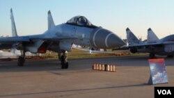 Su-35s li pêşangeha 2018an li Rûsya