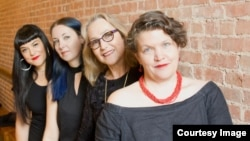 The directors of the Prototype Music Festival are, from left, Beth Morrison, Jecca Barry, Kim Whitener, and Kristin Marting. (Prototype Festival)