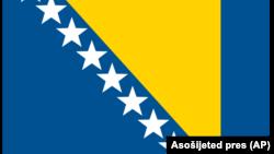 Zastava Bosne i Hercegovine (Foto: Asošijeted pres)
