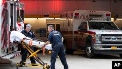Ekipe hitne pomoći u Njujorku