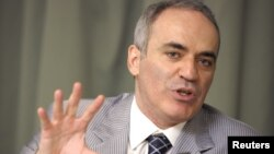 El ex campeón mundial de ajedrez Garry Kasparov fue elegido presidente de la junta directiva de la Human Rights Foundation.