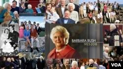 ကြယ္လြန္သူ သမၼတကေတာ္ေဟာင္း Barbara Bush ဂုဏ္ျပဳအမွတ္တရ