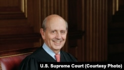 US Supreme Court Justice Steven Breyer
