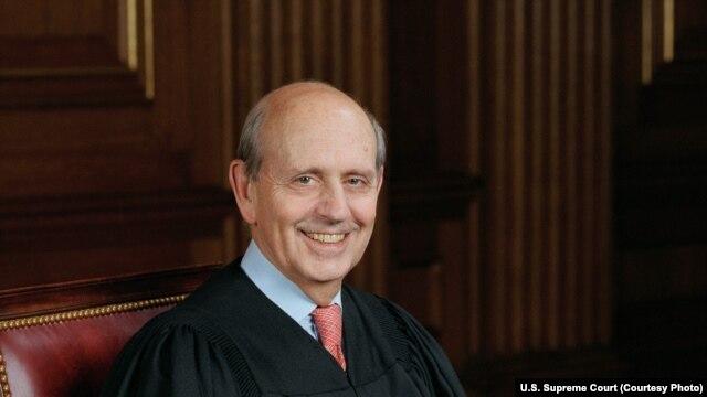 US Supreme Court Justice Steven Breyer