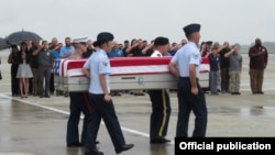 ..Cơ quan Tìm kiếm Tù binh và Người mất tích thuộc Bộ Quốc phòng Hoa Kỳ (DPAA) cùng Văn phòng Tìm kiếm Người mất tích Việt Nam (VNOSMP) đã tổ chức lễ hồi hương hài cốt quân nhân Mỹ tại Sân bay Quốc tế Đà Nẵng.