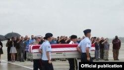 Cơ quan Tìm kiếm Tù binh và Người mất tích thuộc Bộ Quốc phòng Hoa Kỳ (DPAA) cùng Văn phòng Tìm kiếm Người mất tích Việt Nam (VNOSMP) đã tổ chức lễ hồi hương hài cốt quân nhân Mỹ tại Sân bay Quốc tế Đà Nẵng, ngày 11/12/2018.