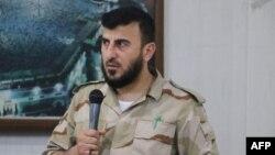 Marigayi Shugaban Mayakan Sa Kan 'Yan Tawayen Syria ta Jaish Army, Zahran Alloush