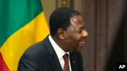 Thomas Boni Yayi, président du Bénin
