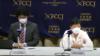 북한 정부를 상대로 일본에서 손해배상 청구 소송을 제기한 재일 한인 북송사업 피해자 가와사키 에이코(오른쪽) 씨와 후쿠다 켄지 변호사가 다음 달 14일 열릴 재판에 앞서 7일 기자회견을 하고 있다.