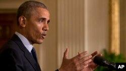 Barack Obama, Washington, 13 avril 2016
