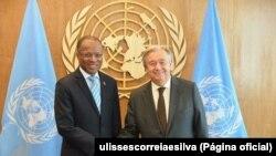 Ulisses Correia e Silva e António Guterres