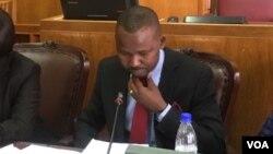 Zimbabwe Media Portifolio Committee chairperson Prince Dubeko Sibanda