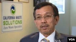 Ông David Dương, Chủ tịch công ty California Waste Solutions.