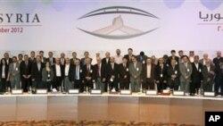 Sastanak Sirijske nacionalne koalicije za opoziciju i revolucionarne snage, nove sirijske opozicione grupe