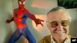 "Stan Lee was the creator of characters such as ""Spider-Man,"" ""The Incredible Hulk"" and ""X-Men."""