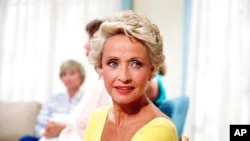 FILE - Actress Jane Powell is pictured in New York in July 1986. She died Sept. 16, 2021, at 92.