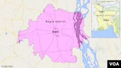 Distrik Bogra, Bangladesh.